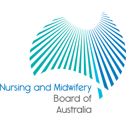 Nursing and Midwifery Board of Australia logo