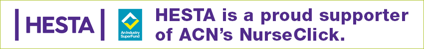 Hesta is a proud supporter of ACN's NurseClick