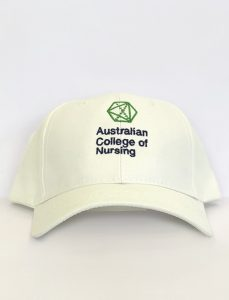 ANC NurseStrong white cap