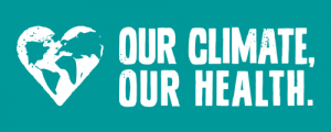 Our Climate, Our Health logo