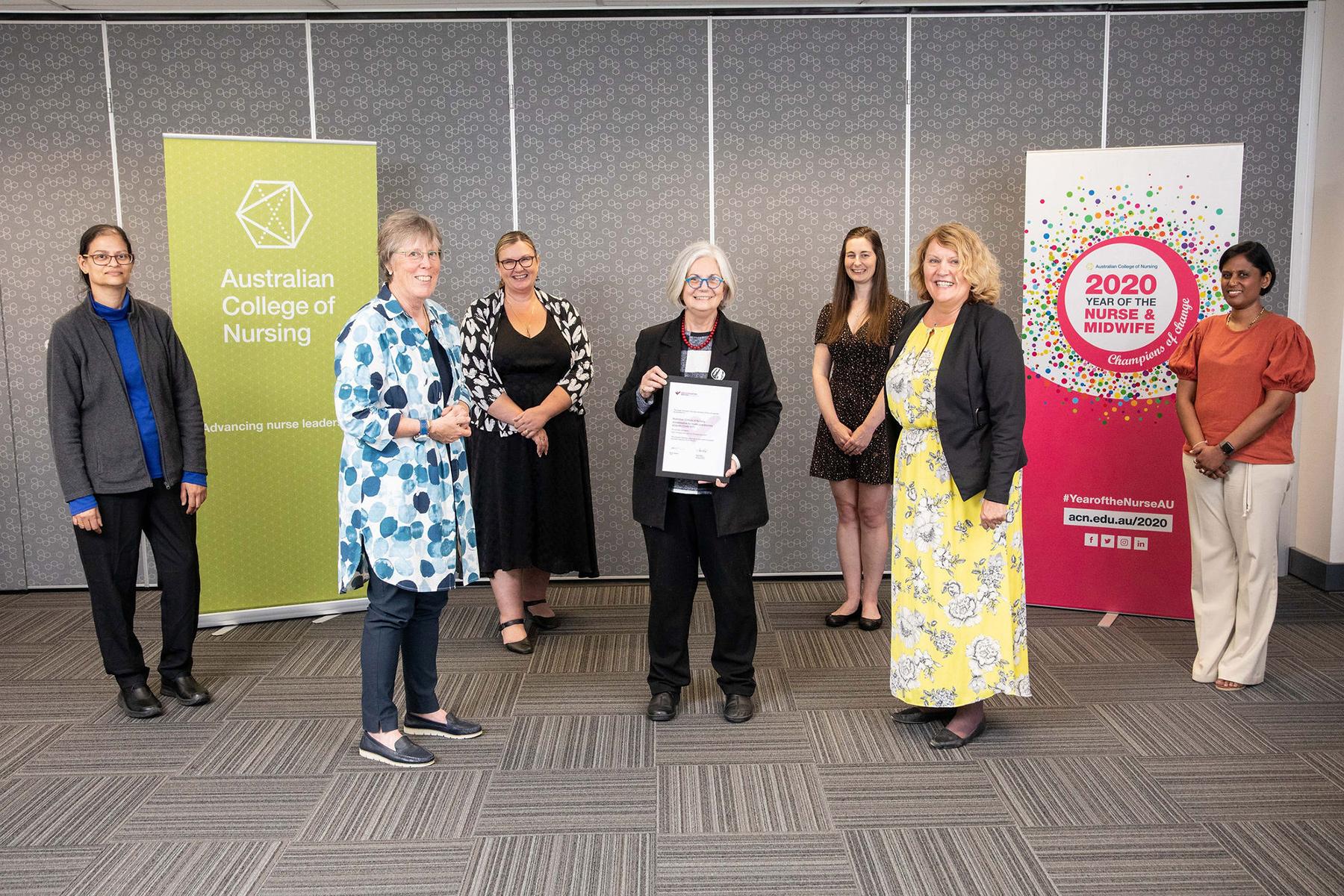 ACN awarded HESA accreditation for immunisation program