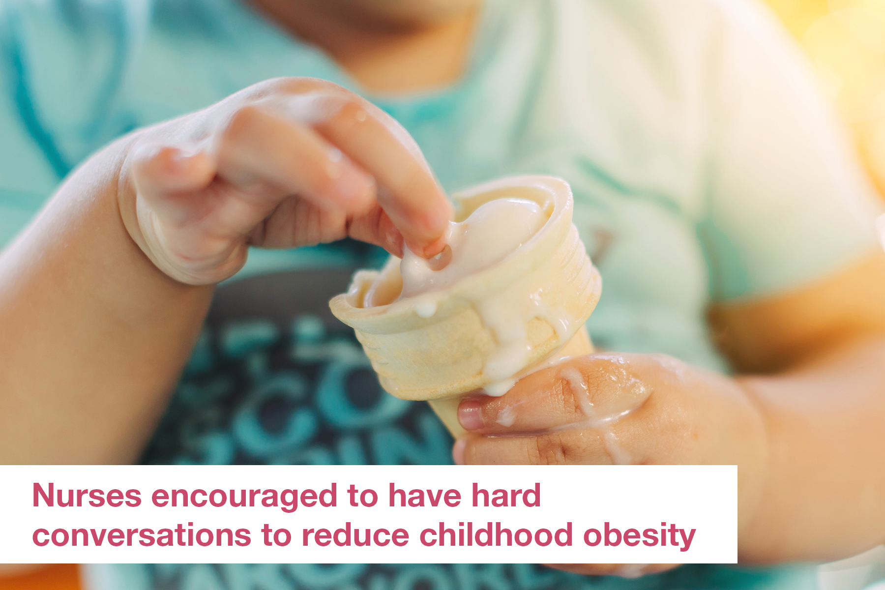 Nurses encouraged to have hard conversations to reduce childhood obesity