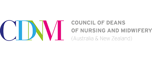 Council of Deans of Nursing and Midwifery logo