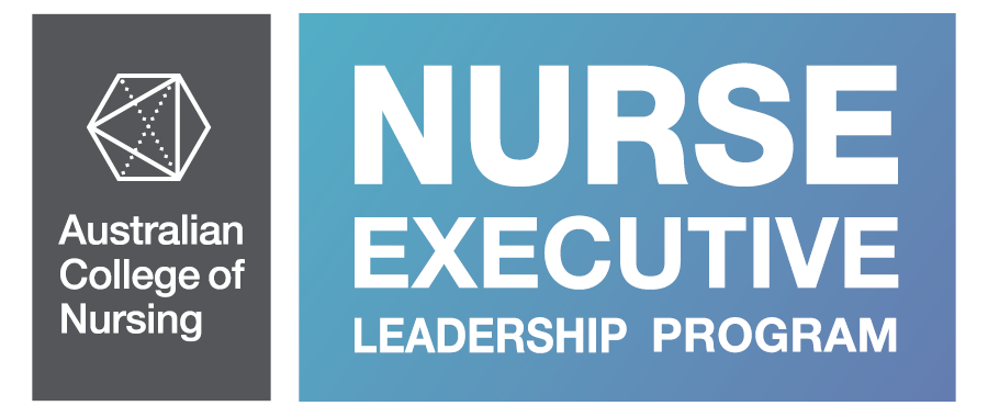 Nurse Executive Leadership program logo