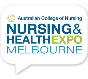 Nursing and Health Expo logo