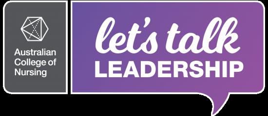 Let's talk leadership - logo