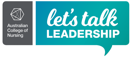 Let's talk leadership - logo