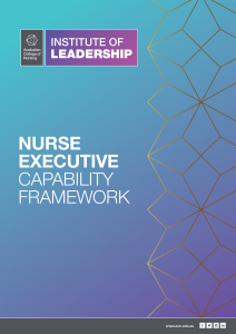Nurse Executive Capability Framework - cover