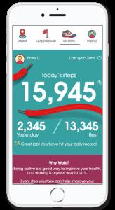 NurseStrong walking app
