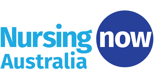 Nursing Now Australia logo - coloured background