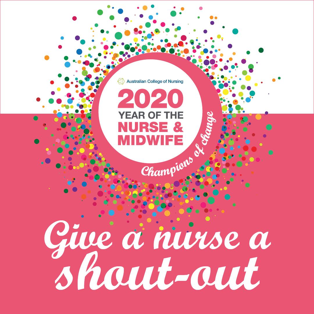 Give a nurse a shout-out