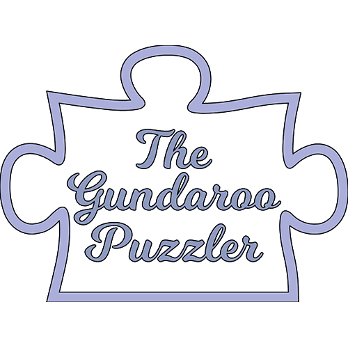 The Gundaroo Puzzler logo