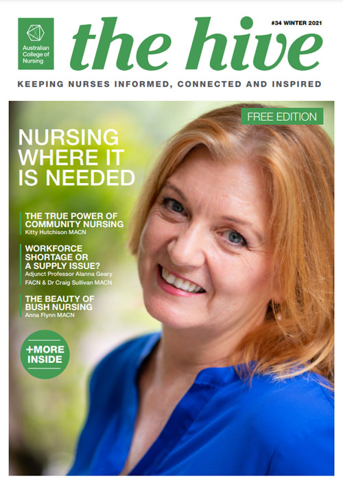 The Hive 34 Cover (Free Edition) - Australian College of Nursing